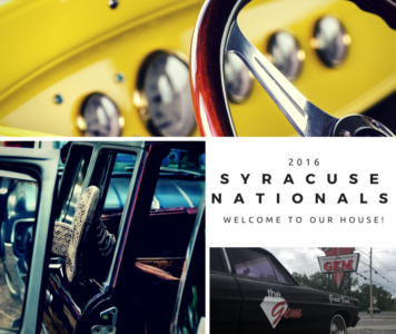 The Gem Diner Welcomes The Syracuse Nationals